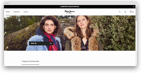 PEPE JEANS ropa mujer