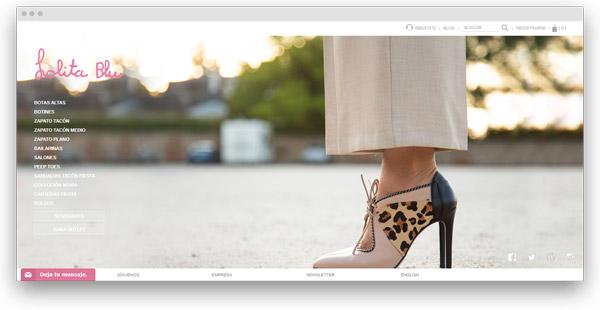 lolita blue zapatos mujer