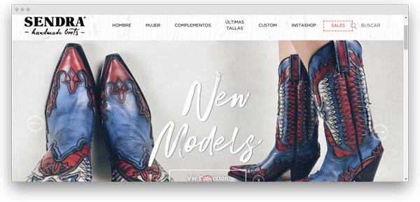 sendra zapatos mujer