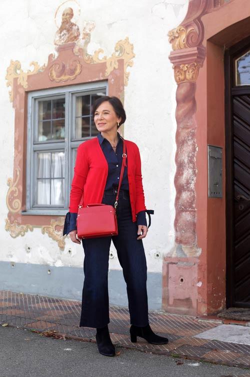 Como vestir casual pero elegante mujer de 50 años