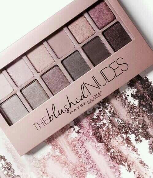paleta The Blushed Nudes