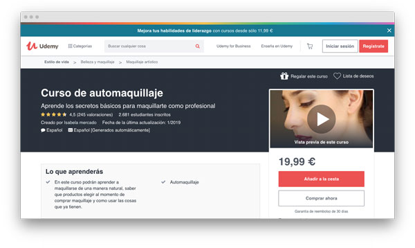 curso automaquillaje online