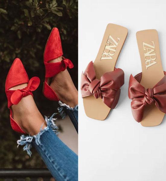 zapatos de Cintas o lazos